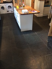 norfolk slate tile cleaning  before