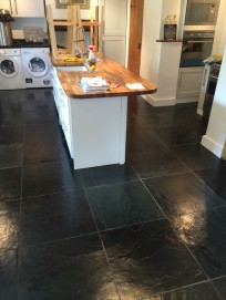 Norfolk slate tile cleaning after