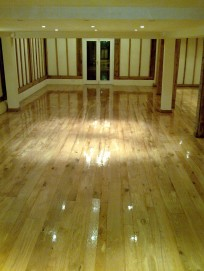 Norfolk oak floor sanding - after